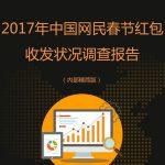 艾媒:2017年网民春节红包收发状况调查报告