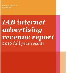 IAB:2016互联网广告收入报告
