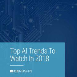 CB Insights:2018年人工智能趋势报告