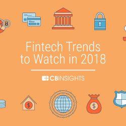 CB Insights:2018的金融科技趋势报告