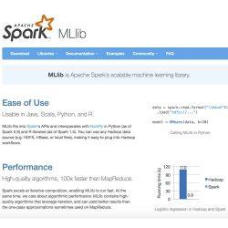 Spark MLib大数据