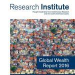瑞士信贷:2016年全球财富报告