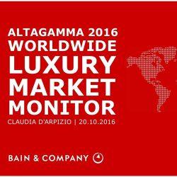 贝恩&Altagamma:2016年全球奢侈行业研究报告