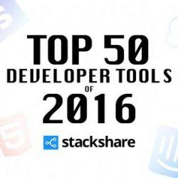收藏丨2016年度最热门的开发工具