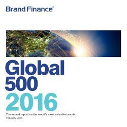 Brand Finance:2016全球500强报告