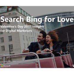 必应:2016情人节搜索趋势