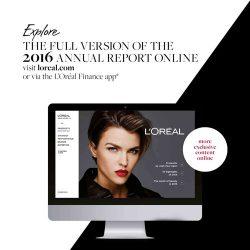 欧莱雅集团:2016年全球美妆市场报告