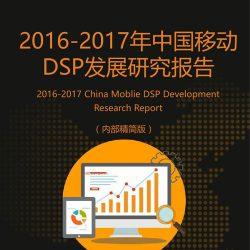 艾媒:2016-2017年中国移动DSP发展研究报告