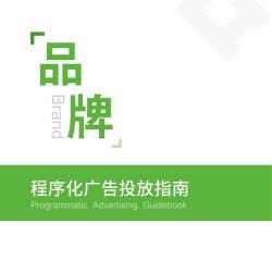 舜飞:品牌程序化广告投放指南