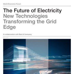 世界经济论坛:电力的未来,转变电网边缘的新型科技报告