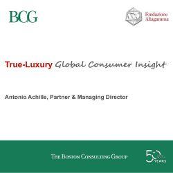 BCG:2017年全球奢侈品行业消费者洞察报告