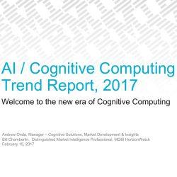 IBM:2017 AI/认知计算 趋势报告