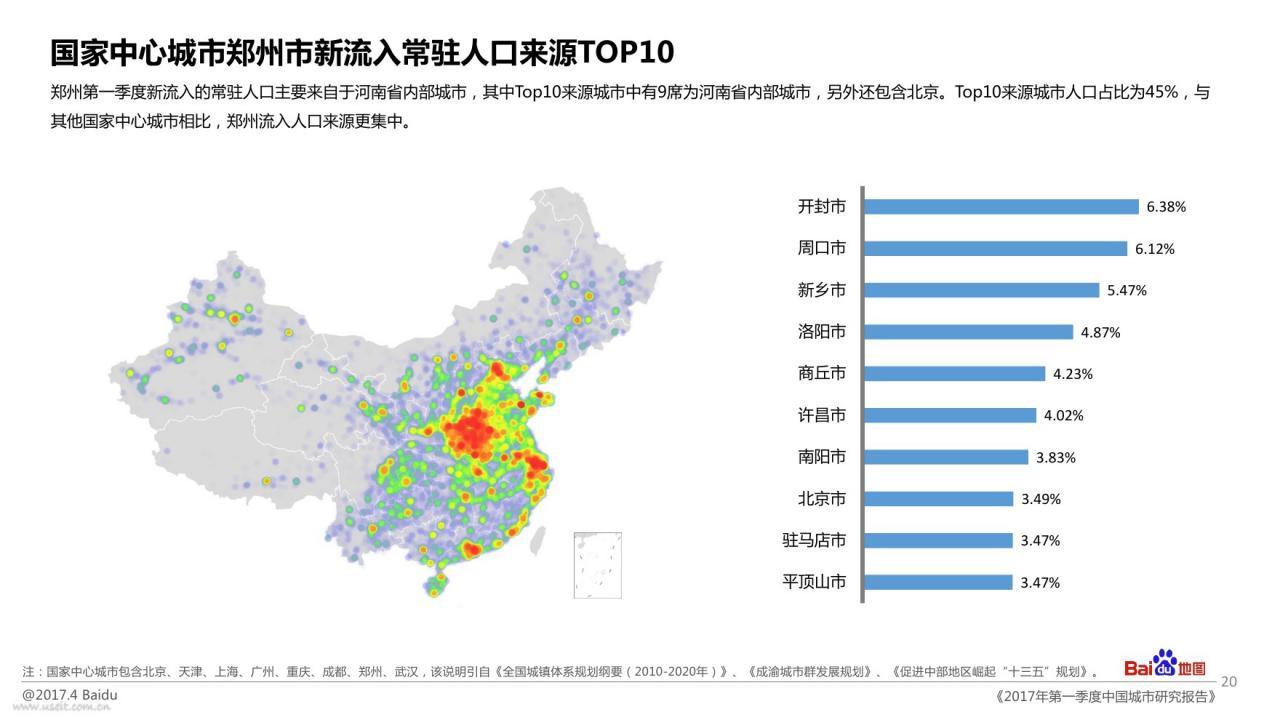 郑州武汉地图_百度地图:2017年第一季度中国城市研究报告 – 小工蚁