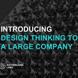 Sutherland:当设计思维遇到大公司