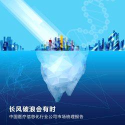 埃森哲:2017中国医疗信息化行业公司市场梳理报告