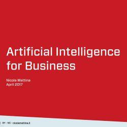 人工智能商务服务领域应用前景
