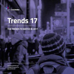 Globalwebindex:2017年值得关注的10大营销趋势