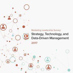 TrackMaven:2017年营销领导力调查——战略,技术和数据驱动管理