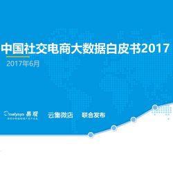 易观&云集微店:2017中国社交电商大数据白皮书