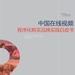 Amnet&AdMaster:2017中国在线视频程序化购买品牌实践白皮书