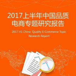 艾媒:2017上半年中国品质电商专题研究报告