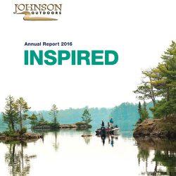 Johnson outdoors:2016年户外运动报告