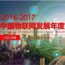 2016-2017年中国物联网发展年度报告