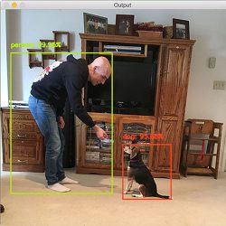 Object detection with deep learning and OpenCV