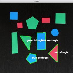 使用OpenCV识别物体颜色