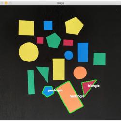 使用OpenCV识别物体形状