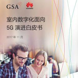 华为:2017室内数字化面向5G演进白皮书