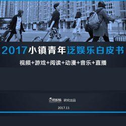 企鹅智酷:2017小镇青年泛娱乐白皮书