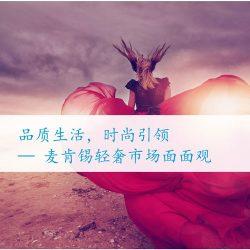 麦肯锡:2017中国轻奢市场面面观