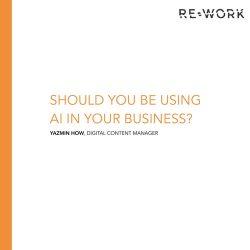 ReWork:未来5年AI应用报告