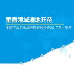 易观:2017年(上半年)中国汽车后市场电商专题分析