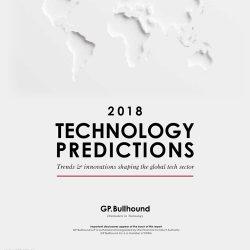 GP Bullhound:2018年十大科技趋势报告