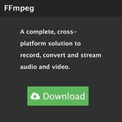 FFmpeg使用