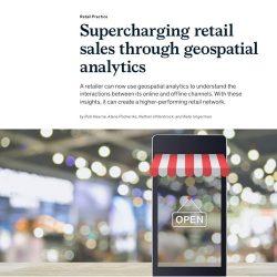 麦肯锡:通过地理空间分析增加零售额