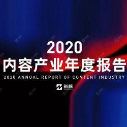 新榜:2020年内容产业年度报告