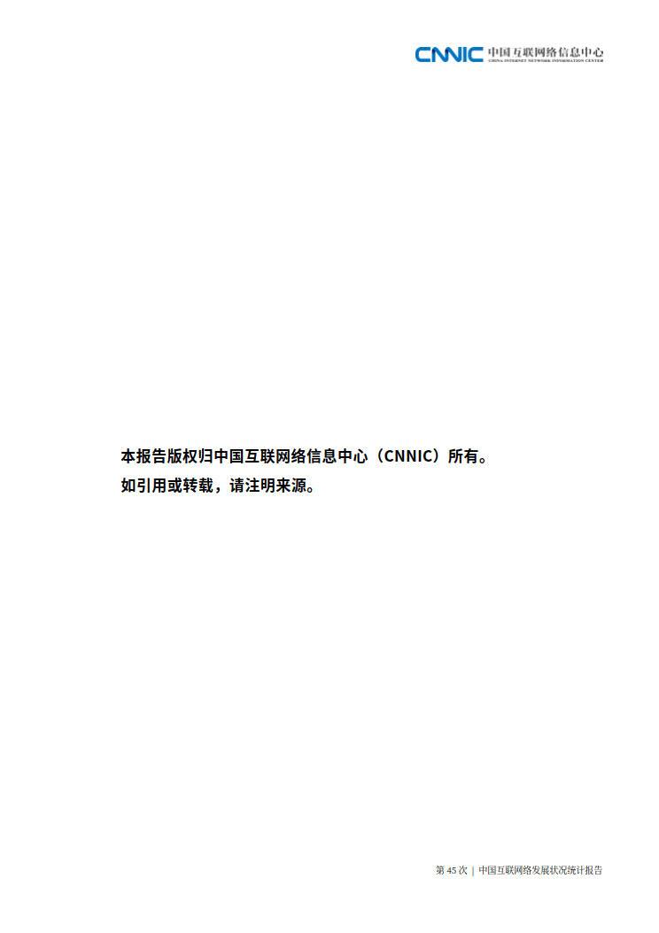 CNNIC 第45次《中国互联网络发展状况统计报告》(2020年4月版)_125.jpg